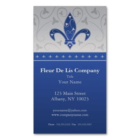 Fleur De Lis Business Card Template by 17 Best Images About Design Consultant Business Cards On