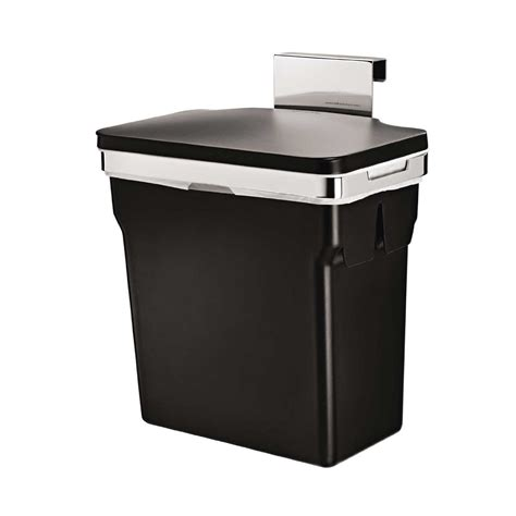 in cabinet trash cans for the kitchen 2 6 gallon cabinet trash can hanging cabinet mount waste