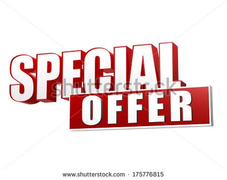 Special Offer Letters To Customers stock images royalty free images vectors