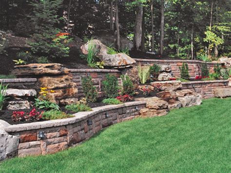Garden Walling Ideas Retaining Wall Designs Ideas Retaining Wall Idea Retaining Wall Blocks Home Depot Interior