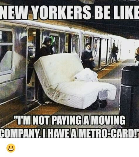 Moving Pictures Meme - newyorkers be like i m not paying a moving company