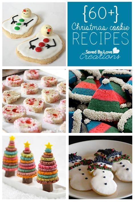 60 plus christmas cookie recipes to make