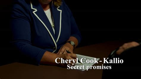 Max Secret Deals by Candidate Cheryl Cook Kallio Made Secret Deals With