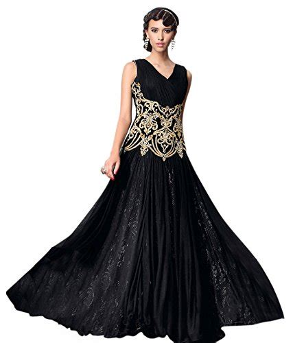 gaun dress design with price surat saree bollywood stylish new awesome fancy black