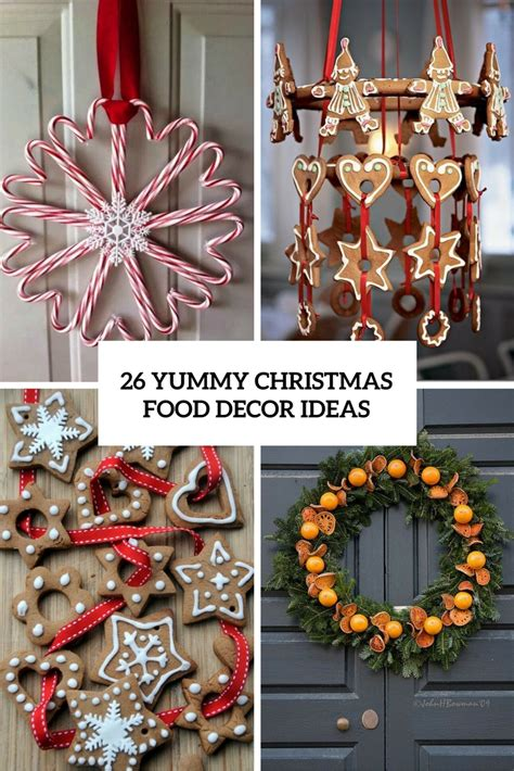 26 yummy christmas food d 233 cor ideas shelterness
