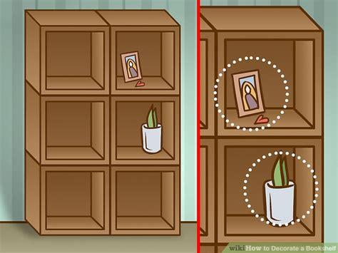 4 ways to decorate a bookshelf wikihow