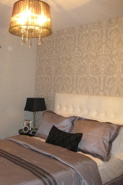 damask wallpaper bedroom photos and video bedroom with damask wallpaper design ideas