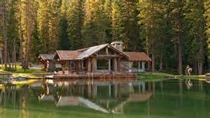 Lakes Cottages Log Cabin Wallpaper Log Cabins Lakes Design A Log Cabin