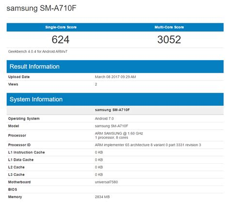 Samsung A7 Update samsung testing nougat update on galaxy a7 2016 edition