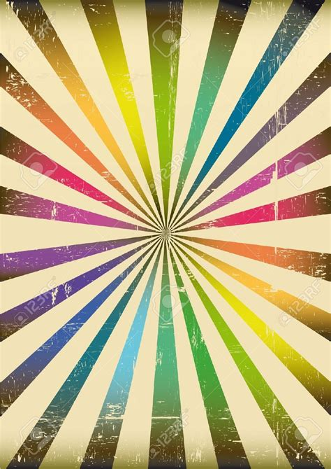 circus colors 12425887 a sunbeam background with rainbow colors stock