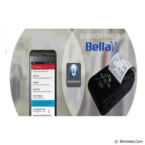 Printer Bluetooth Murah jual bellav mobile printer thermal bluetooth bellav andorid printer label barcode murah