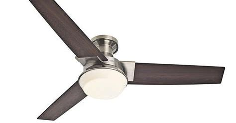 Hunter Morelli 52 Quot Brushed Nickel Ceiling Fan 12 21 Quot From