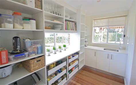 Pull Out Pantry by Pantry Pull Out Drawers Home Decorating Trends Homedit