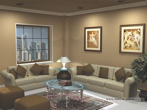 3d living room rendering and animations indsys computers