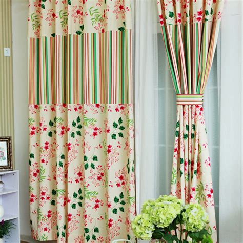 floral blackout curtains thick blackout curtain in linen cotton with beautiful