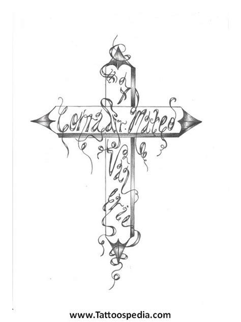 vine cross tattoos cross tattoos