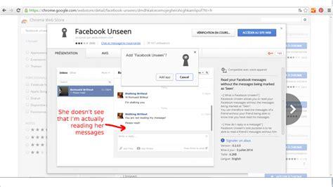 facebook themes extensions google chrome facebook tutoriel comment enlever la mention quot vu quot