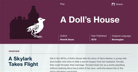 a doll house summary a doll s house act 2 section 1 summary course hero