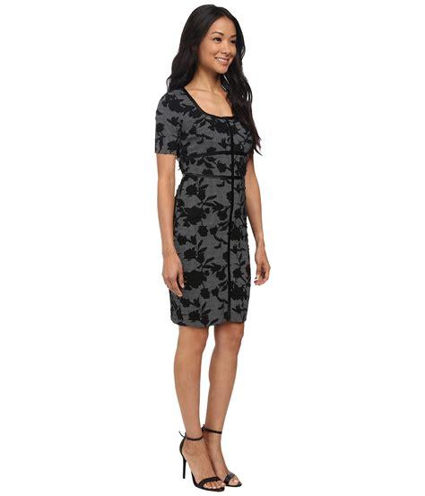 Chaps Dahlia Dress nydj dahlia floral houndstooth dress at 6pm