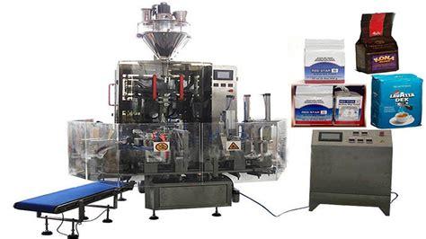 Filling Coffee Mero 1 5kg hexahedral bags vacuum filling packaging machinery food