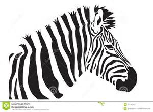 zebra outline silhouette stock image image 27178741