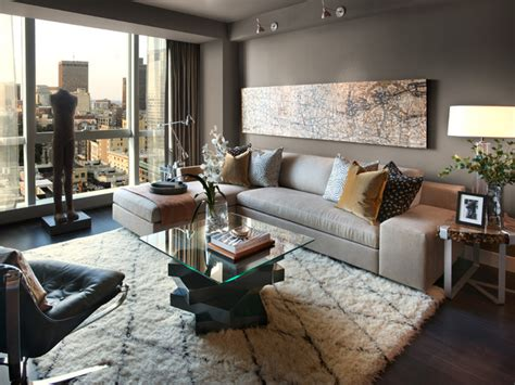 w boston contemporary living room boston by l