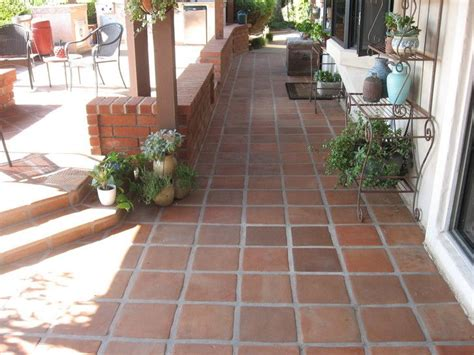 terra cotta paver cleaning resealing outdoor patio in