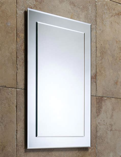 Large Bathroom Mirrors Uk Roper Bevelled Mirror On Mirror Mps403