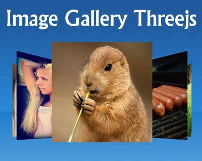image gallery threejs jquery plugins