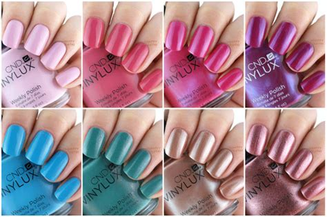 early spring nail colors the happy sloths cnd vinylux spring 2016 art vandal