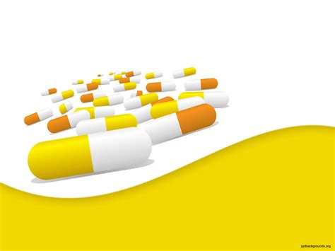 free pills capsules backgrounds for powerpoint health
