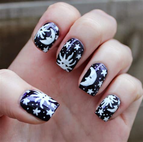Moon Nail Design moon nail designs