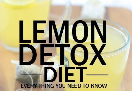 Lemon Detox Diet Working Out by Lemon Detox Diet Everything You Need To Thus If