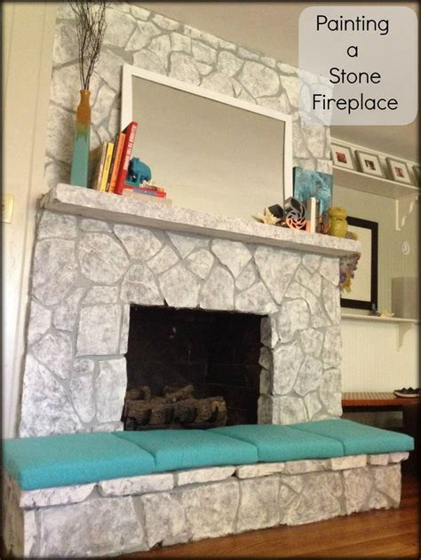 17 best ideas about painted fireplace on