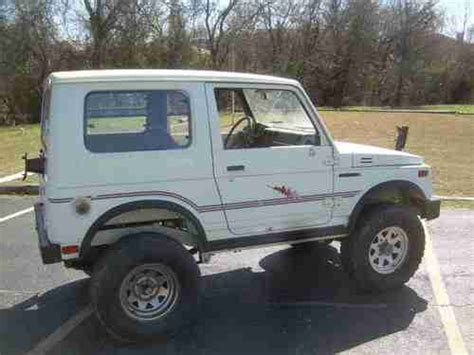 Suzuki Sj410 For Sale Usa by Find Used 1985 Suzuki Sj410 Samurai In Arlington
