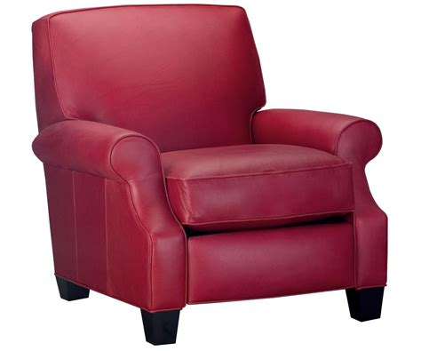 red recliner chairs red leather recliner chair club furniture