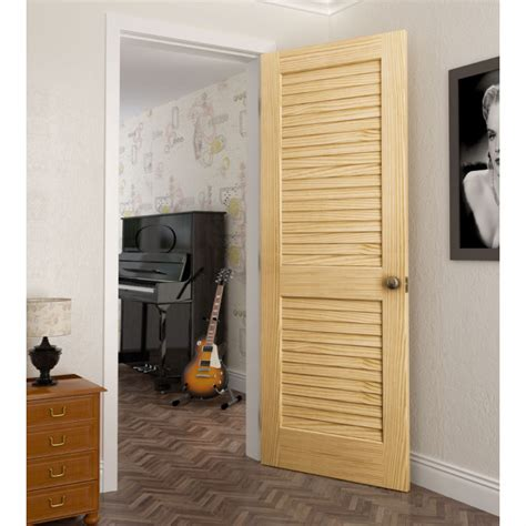 Louver Panel Doors Colonial Panel Doors Slatted Interior Doors