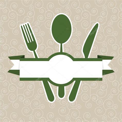 green vintage retro restaurant menu cover template stock