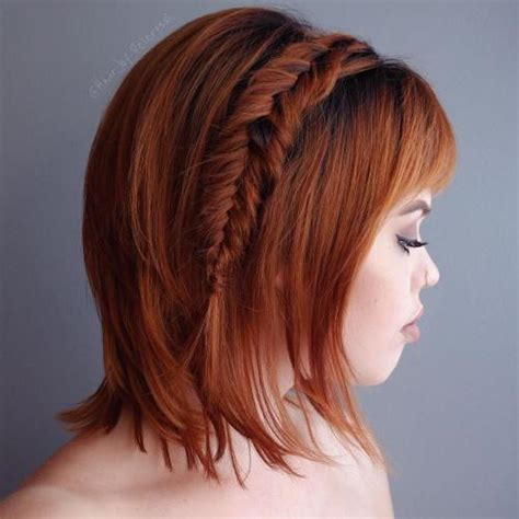 extremely short hair braiding 40 gorgeous braided hairstyles for short hair tutorials