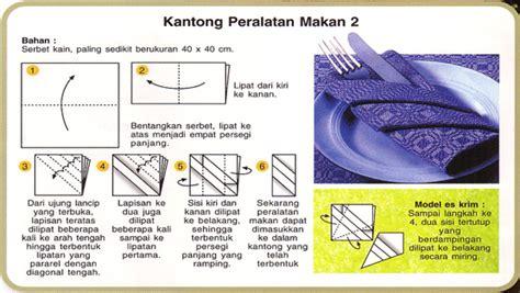 tutorial melipat dasi cara melipat serbet atau napkin folding bumi sarmili damai
