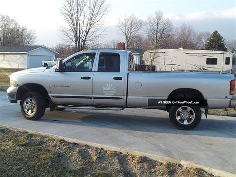 dodge ram 3500 trucks 2005 dodge ram 3500 slt crew cab pickup 4 door 5 9l