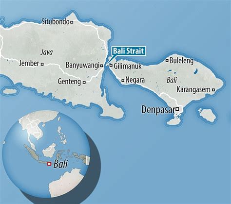 ferry banyuwangi to bali ferry capsizes near bali throwing pasengers into the sea