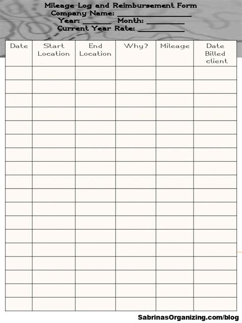 insurance tracking log easy ways to track mileage for your small business