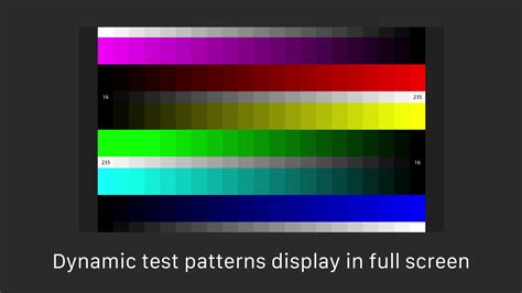 gamma test pattern hdtv calibr8 instructions professional grade calibration