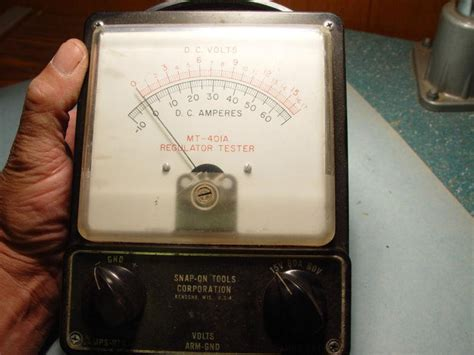 Equipment 401a by Buy Vintage Snap On Mt 401a Regulator Tester Auction No