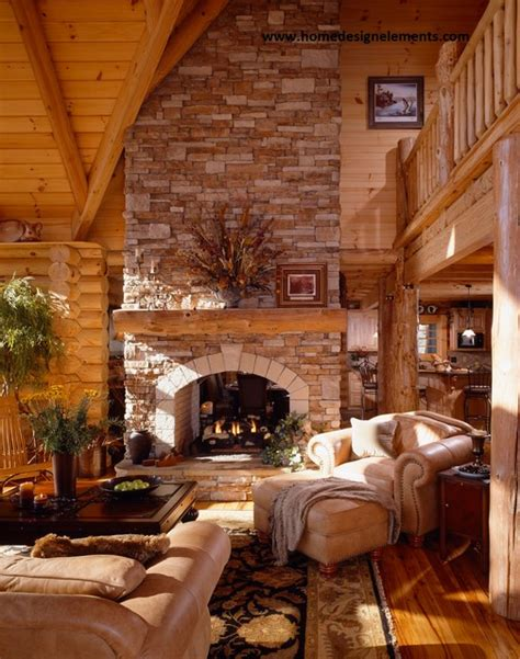 log home tysinger traditional living room other