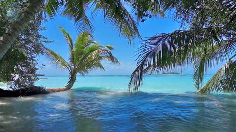 ocean waves  tropical island maldives ambience sound