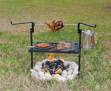 cowboy grill open pit pit design ideas