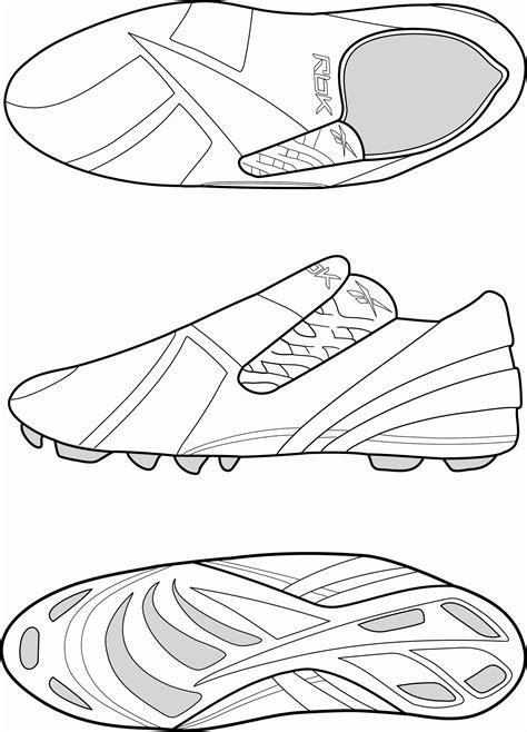 coloring pages football shoes football shoes free coloring pages