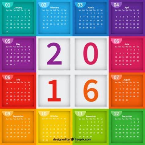 Calendar Con Calendario 2016 Mes A Mes Calendario Puro Pelo